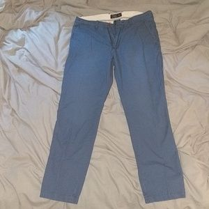 Abercrombie and Fit blue khaki 31x30